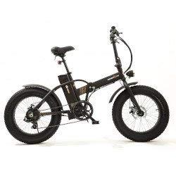 Smartway Monster Fat E-Bike Pieghevole Nera