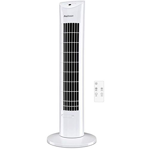 Pro Breeze Ventilatore a Torre Oscillante - 60W...