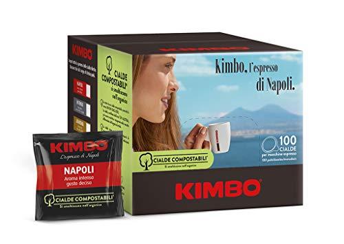 Kimbo Cialde Compostabili Napoli - 100...
