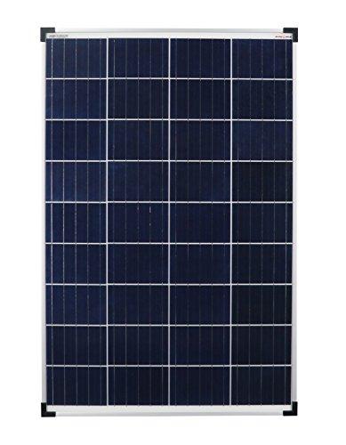 Enjoysolar 1200100 Pannello Solare Policristallino, 100 W, Ideale per Camper, Casette da Giardino, Barca, Ecc