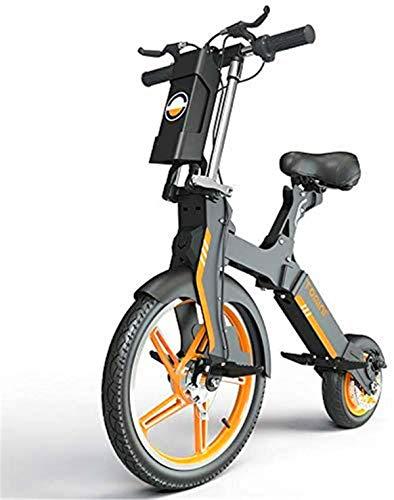 Urbano Commuter pieghevole E-bike, 18 Inch Wheels Scooter elettrico 36V pieghevole della bici della bicicletta / 5.2AH Li-Ion Battery 350W Motore, telaio in lega di alluminio, Double E-ABSI Brake , Pe