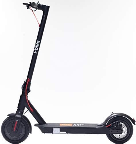 i-Bike Mono Air S, Monopattino Elettrico Unisex Adulto, Nero, Unica