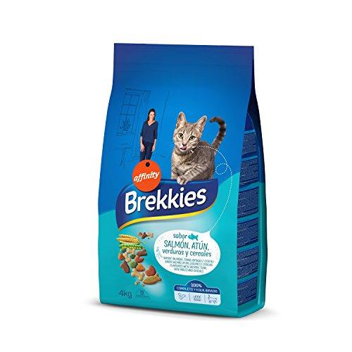 Brekkies Cibo per Gatti con Salmone,...
