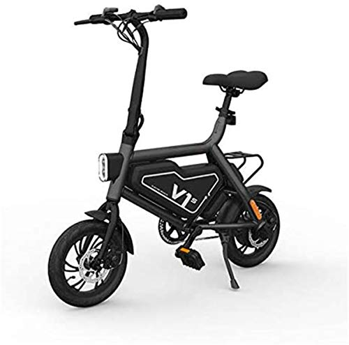 Urbano Commuter pieghevole E-bike, Pieghevole bici elettrica, 12 pollici e della bicicletta for adulti e ragazzi, con 36V 7.8Ah agli ioni di litio / 250W DC Brushless Motor , Per le donne e adolescent