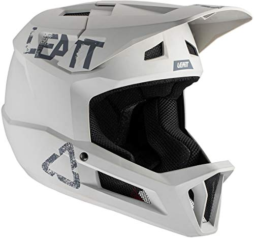 Leatt Casco MTB 1.0 DH Bicicletta Adulto Unisex Grigio Steel, M