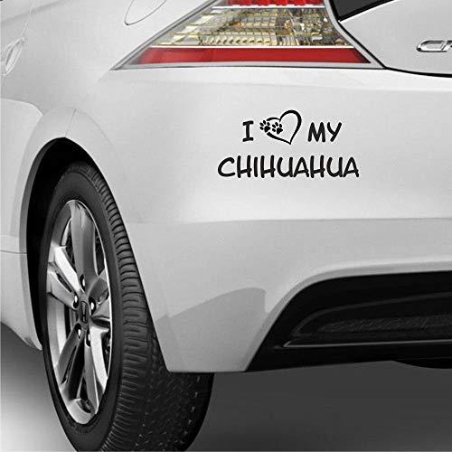 myrockshirt I Love My Chihuahua ca 22 cm...