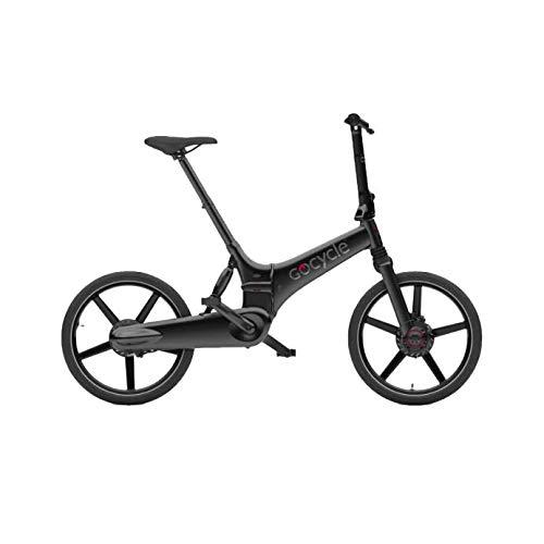 Gocycle GX - Bicicletta elettrica pieghevole, colore nero opaco