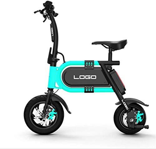 Urbano Commuter pieghevole E-bike, Adulti pieghevole mini bici elettrica, aeronautica-grado di lega di alluminio portatile bicicletta elettrica, 350W Motore / 36V batteria al litio, Uomini Donne Gener