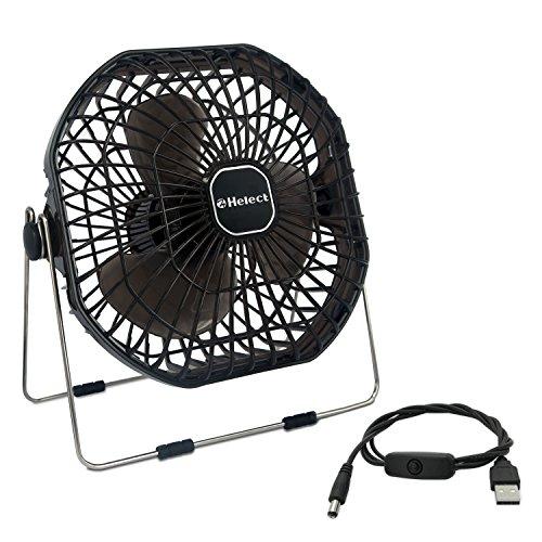 Helect Mini Ventilatore USB, Portatile e...