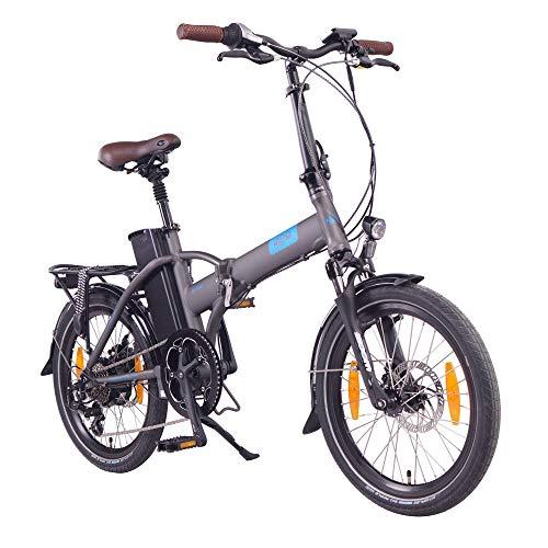 "NCM London 20"" Bicicletta elettrica Pieghevole, 36V 15Ah 540Wh Grigio"