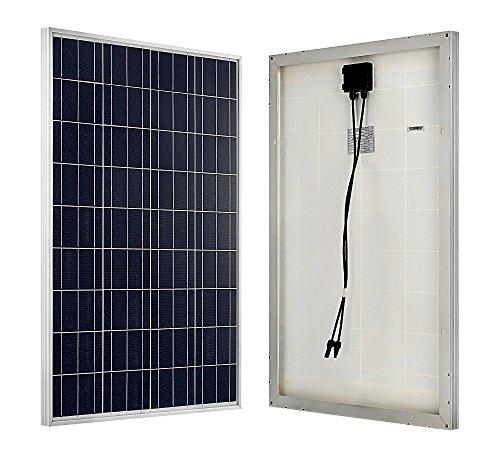 ECO-WORTHY L02P10-N-1 Pannello solare monocrystalline, 10W 12V
