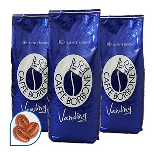 3 KG CAFFE IN GRANI BORBONE QUALITA' BLU