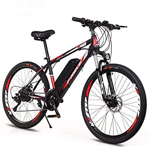 Urbano Commuter pieghevole E-bike, Bici elettrica Montagna for gli adulti, 26 pollici bici elettrica della bicicletta con rimovibile 36V 8AH / 10 AH agli ioni di litio, 21/27 Velocità Shifter , Per le