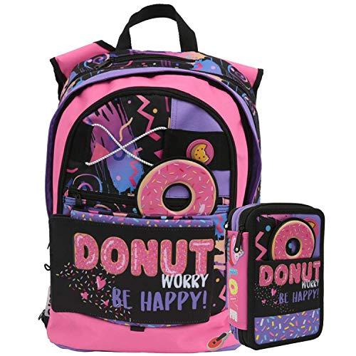 SchoolPack Zaino GoPop Donut 5 in 1 +...